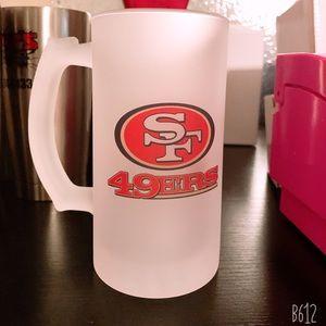 Frosted beer mug 16 oz